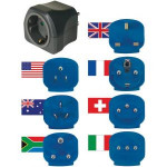 Brennenstuhl - travel adapter from Europe to the world