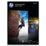 HP - Advanced glossy photo paper inktjet 250g/m2 A4 25 sheets 1-pack