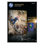 HP - Advanced glossy photo paper inktjet 250g/m2 A4 50 sheets