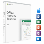 Microsoft - Office 2019 Home and business voor Mac (digitale licentie)