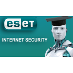 Eset - Internet security 1 pc's / 1 jaar Student (digitale licentie)
